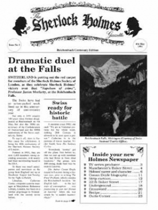 Sherlock Holmes Gazette issue 1
