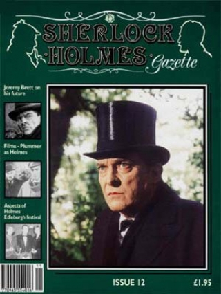 Sherlock Holmes Gazette issue 12
