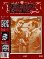 Sherlock Holmes Gazette issue 14
