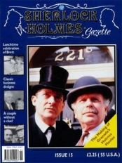 Sherlock Holmes Gazette issue 15