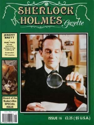 Sherlock Holmes Gazette issue 16