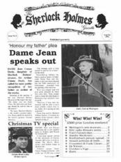 Sherlock Holmes Gazette issue 2
