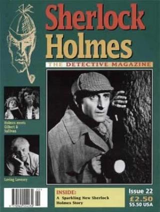 Sherlock Holmes - The Detective Magazine 22