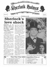 SHERLOCK Gazette issue 3