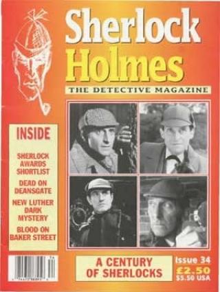Sherlock Holmes - The Detective Magazine 34