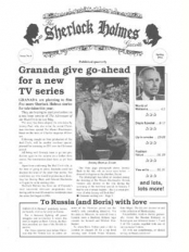 Sherlock Holmes Gazette issue 4
